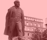 Das alte Lenin Denkmal in Nowa Huta