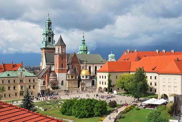 Königsdom und Schloss auf dem Wawel